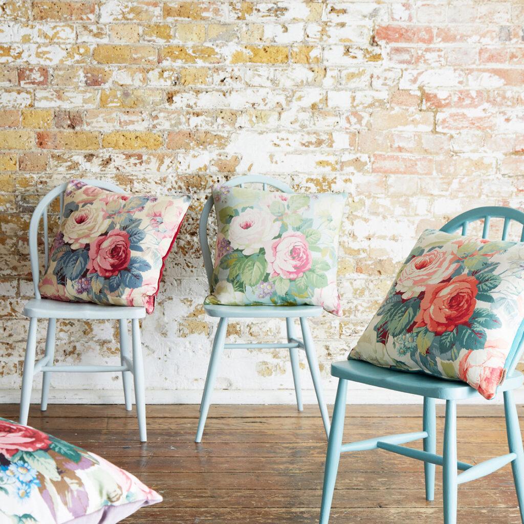 Sanderson-Cushions-Chelsea-Floral-Range-Design