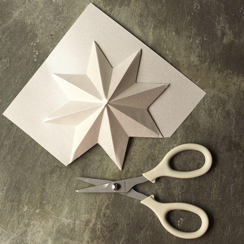 3 diy de no l en origami. Black Bedroom Furniture Sets. Home Design Ideas