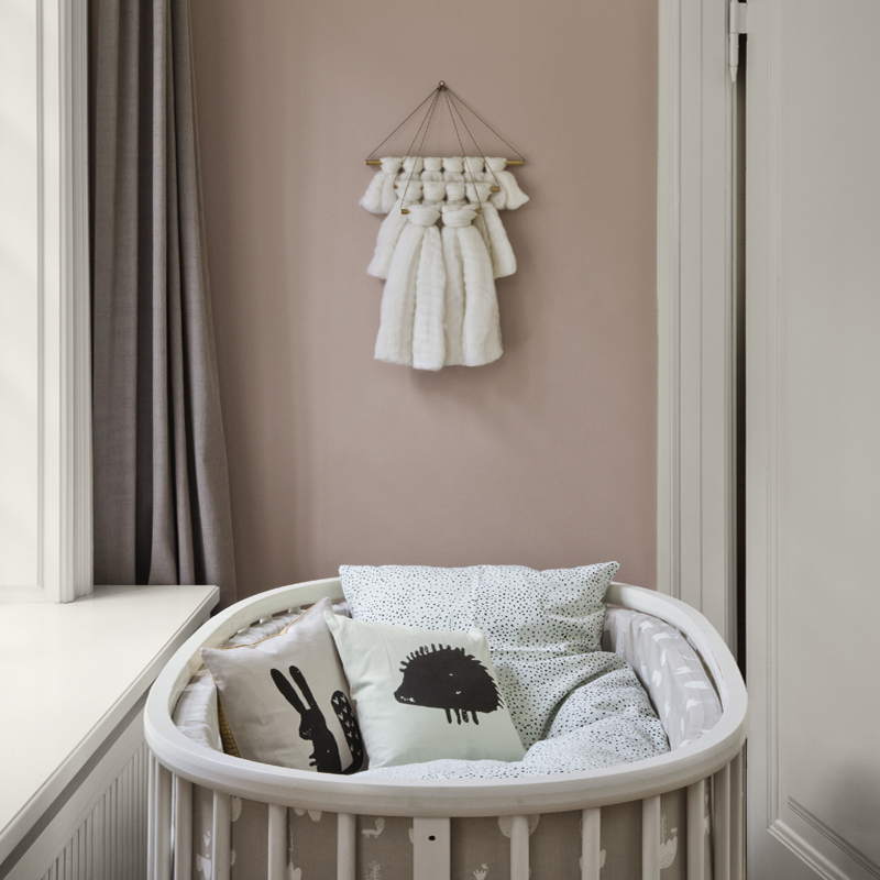 MINT DOT BEDDING - BABY