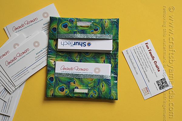 duck-tape-business-card-holder