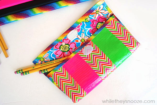 How_to_make_a_duck_tape_pencil_case