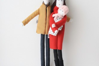 Personalized fabric dolls / FulBelSic