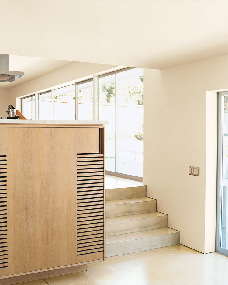 Leblanc House Stairs to kitchen