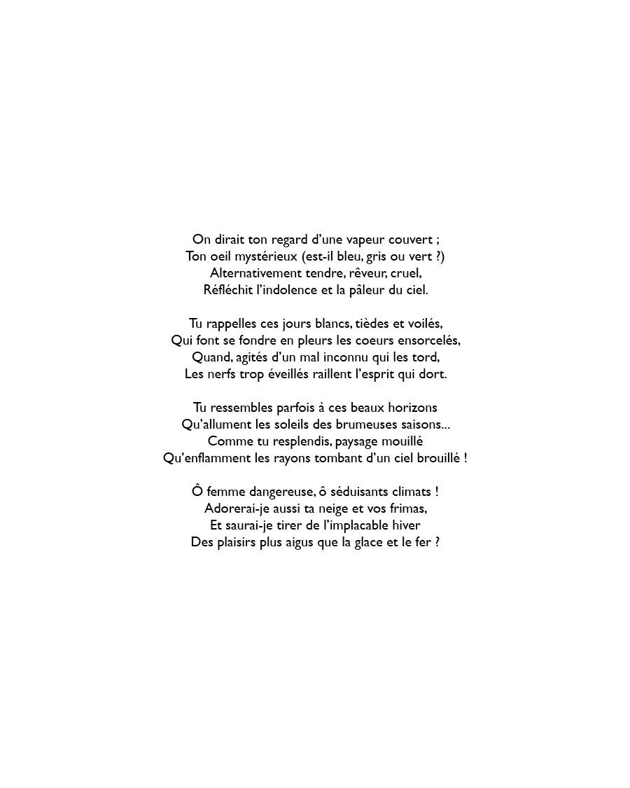 Recueil poèmes