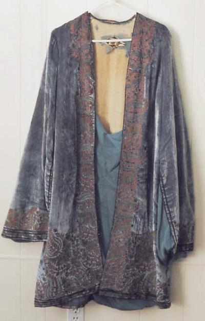 Velvet coat metmuseum.org