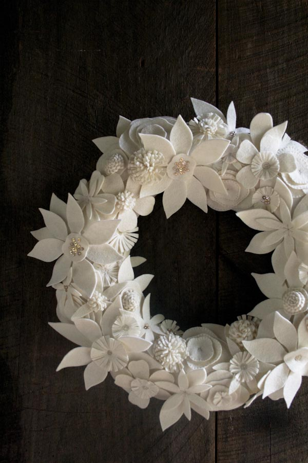 Winter Wreath // Purl Soho