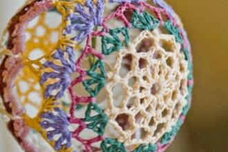 Christmas crochet balls - crochet crochet