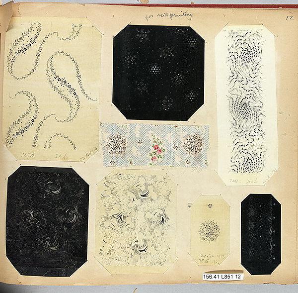 Textile Sample Book // The Met