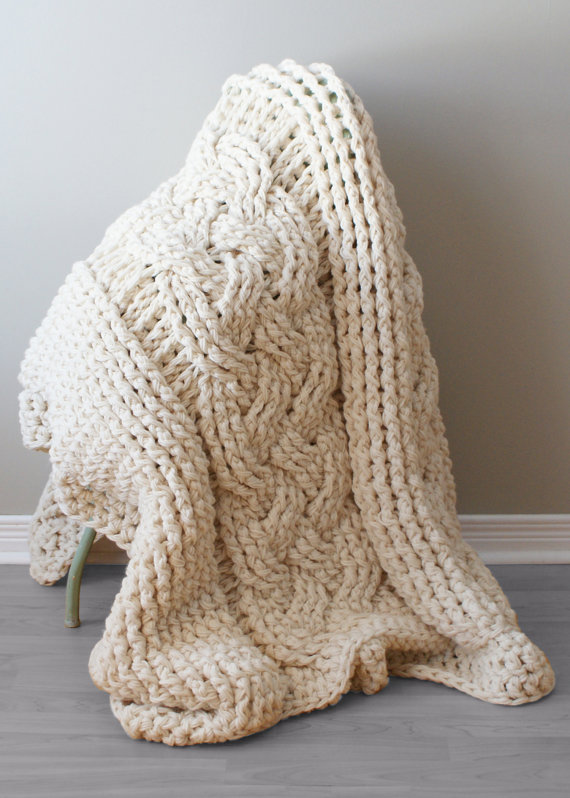 DIY Crochet PATTERN - Throw Blanket