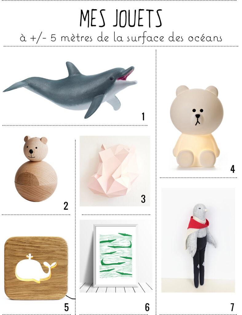 Les jouets marins