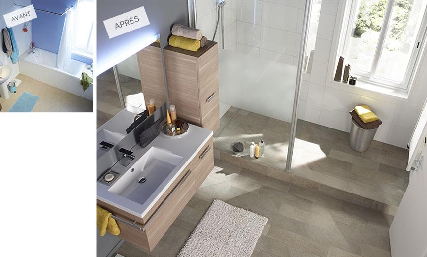 r nover sa salle de bain. Black Bedroom Furniture Sets. Home Design Ideas