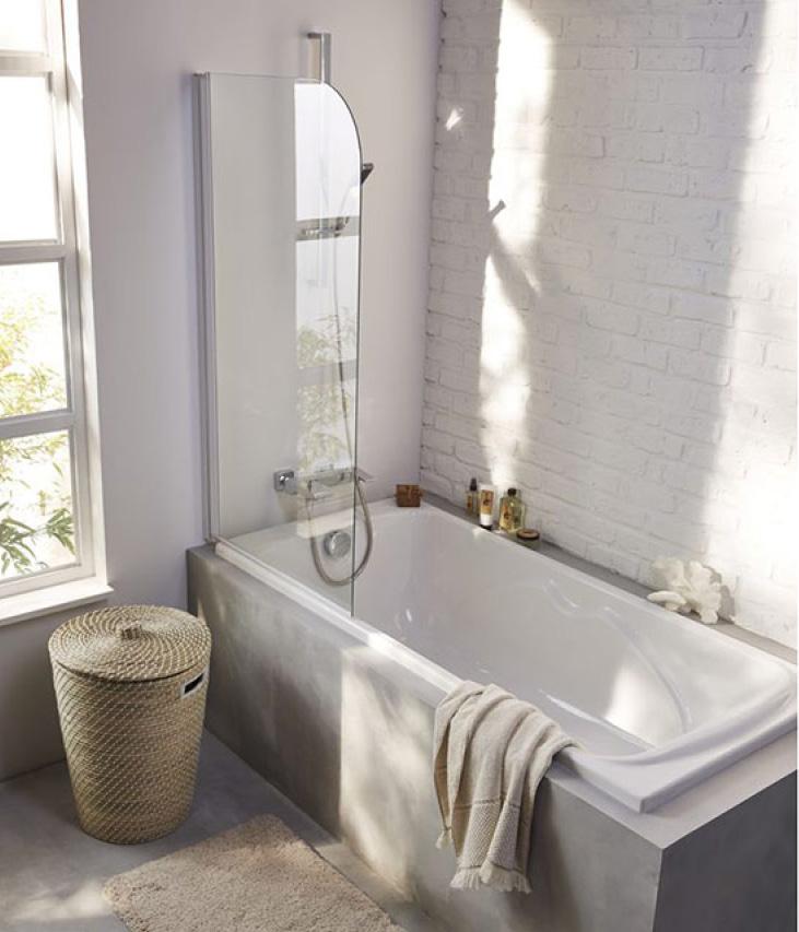 salle-de-bains_renovation_paroi-douche © Castorama