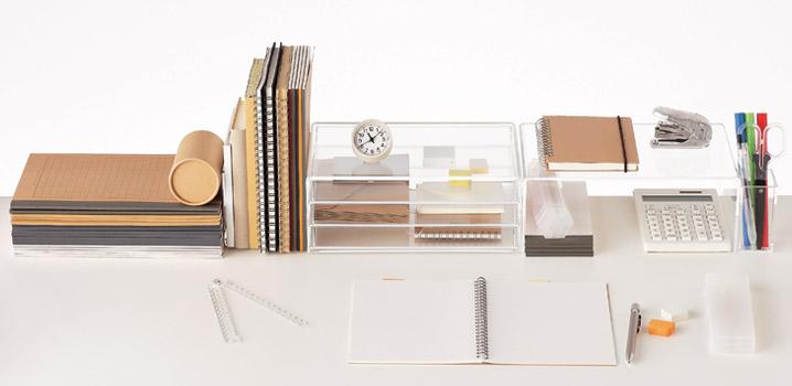 Accessoires de bureau // Muji