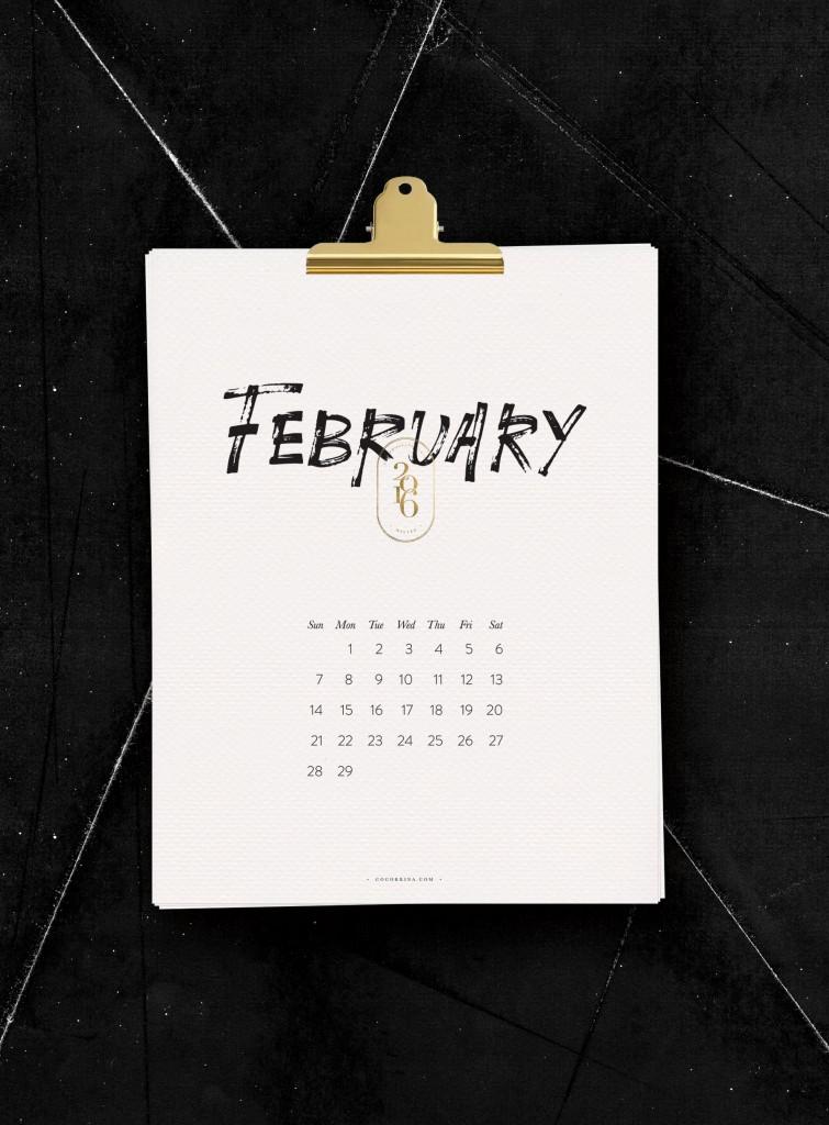 2016 Calendar_Cocorrina