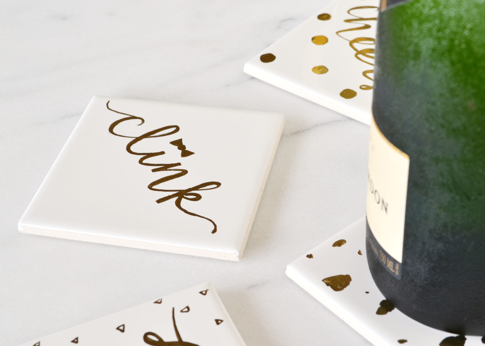 DIY-GOLD-GILDED-COASTERS