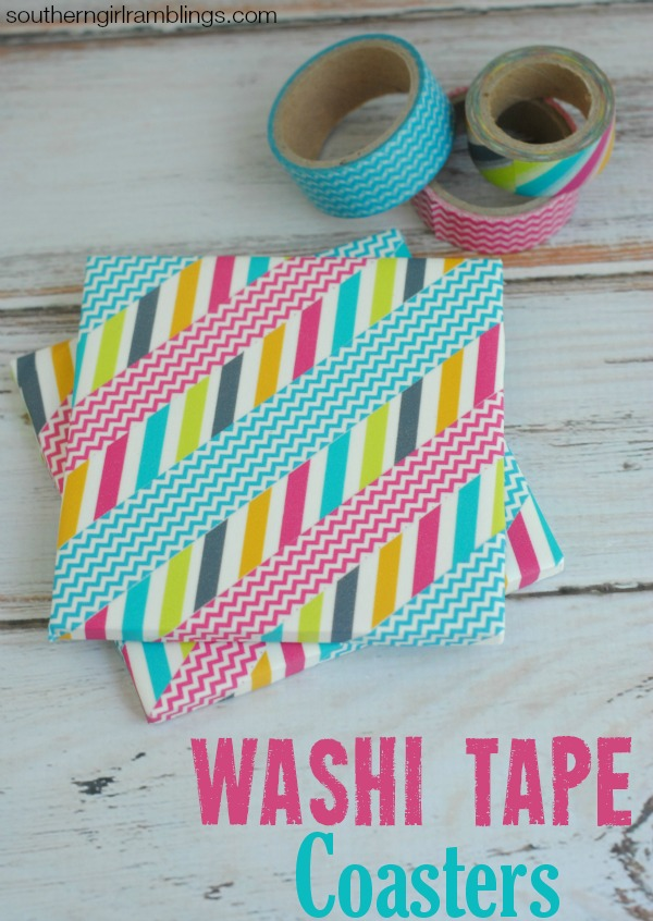 DIY-Washi-Tape-Coasters-Washi-Tape-Ideas