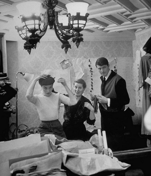 Hubert de Givenchy avec Bettina - 1952