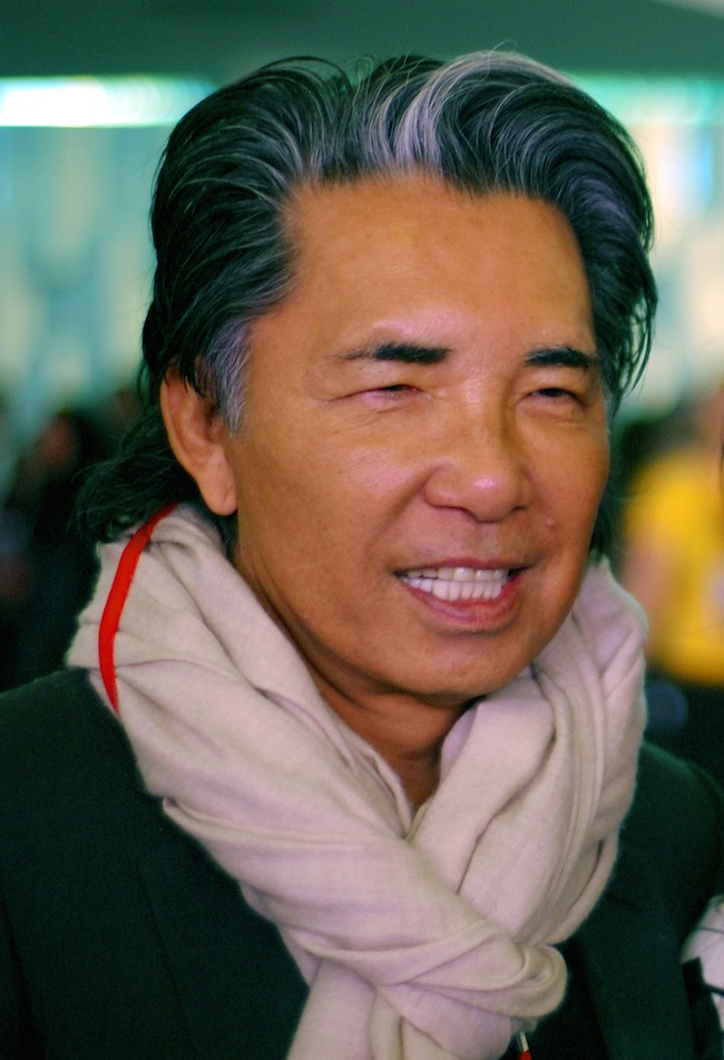 Kenzo Takada By michell zappa (edited from Kenzo Takada & Helô) CC BY 3.0  via Wikimedia Commons
