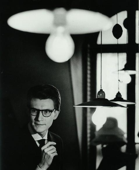 Yves Saint Laurent en 1962