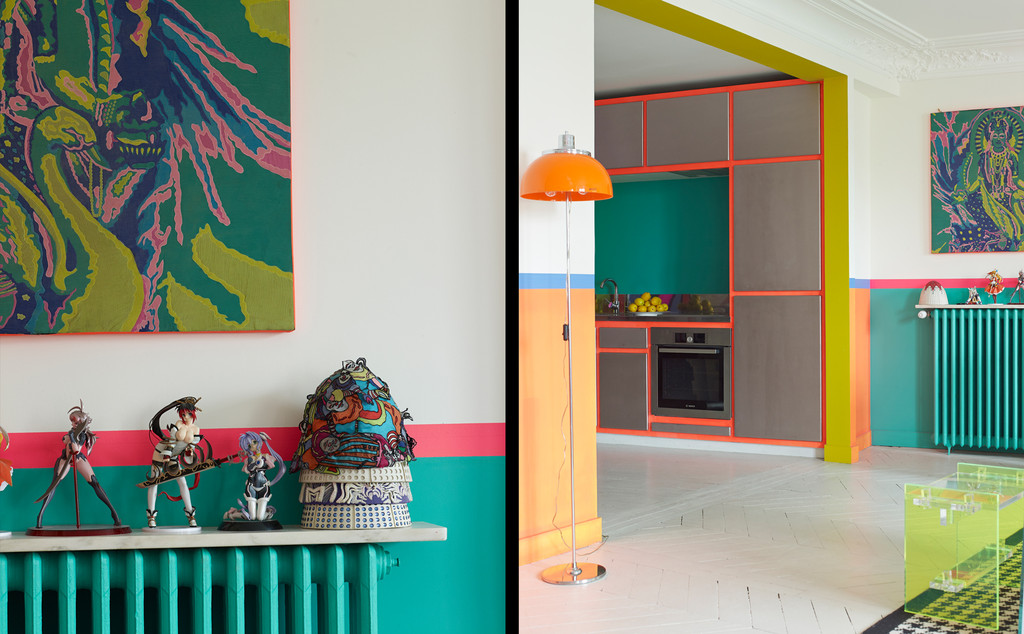 A Paris chez Anish a Photographed by Gaelle Le Boulicaut