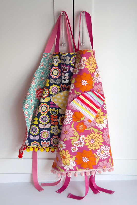 Fat Quarter Child's Apron Tutorial