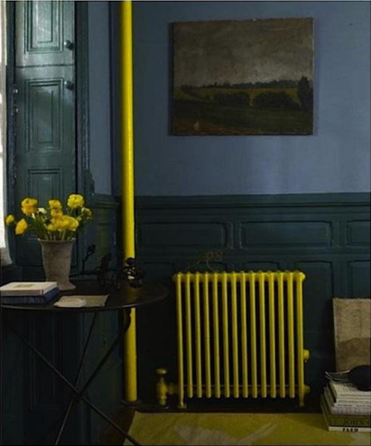 painted-radiator