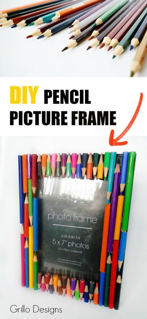 DIY-PENCIL-PICTURE-FRAME