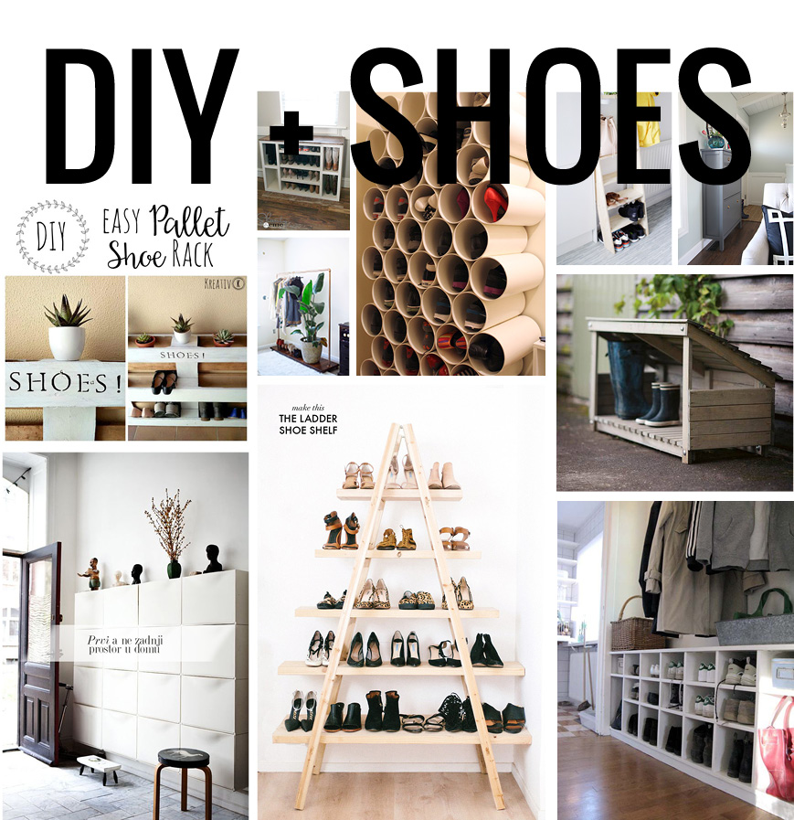 10 diy pour ranger les chaussures. Black Bedroom Furniture Sets. Home Design Ideas