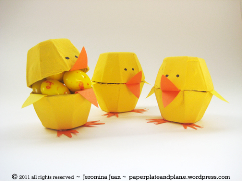 easter-egg-carton-chicks