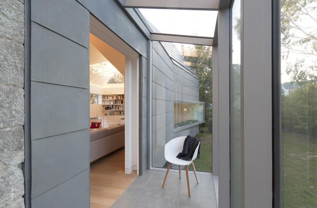 L 39 extension contemporaine d 39 une villa de style baln aire 1900 - Plan d agrandissement de maison ...