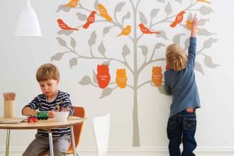 Birds of a Feather Family Tree // Martha Stewart