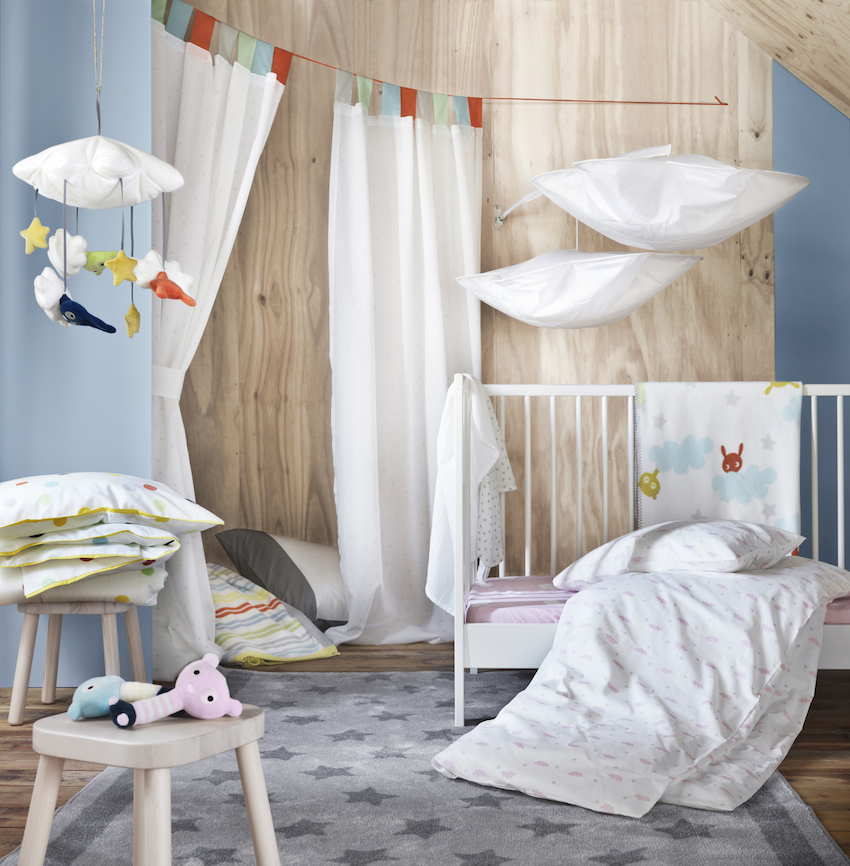 textiles ikea pour enfants. Black Bedroom Furniture Sets. Home Design Ideas