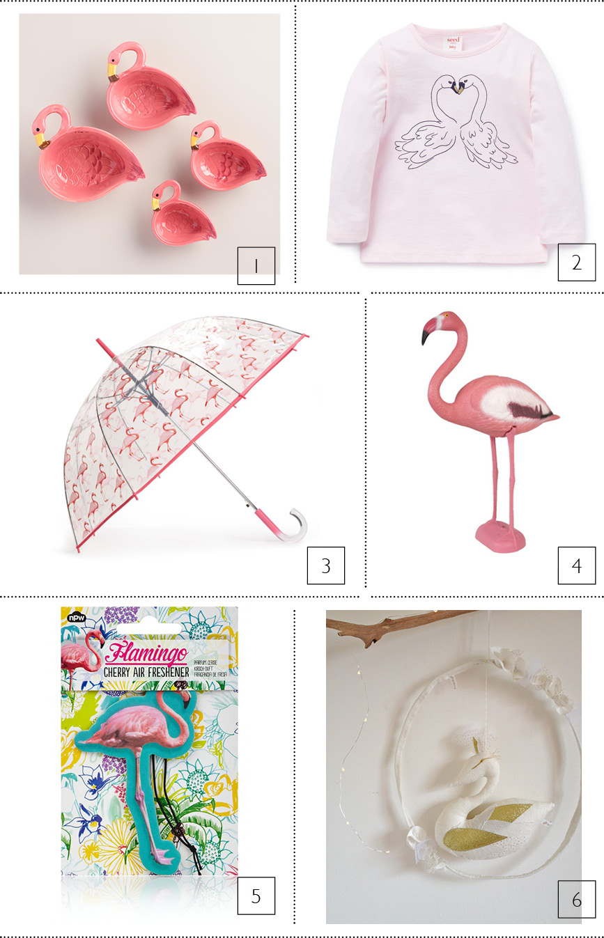 DECOR-SWAN-FLAMINGO