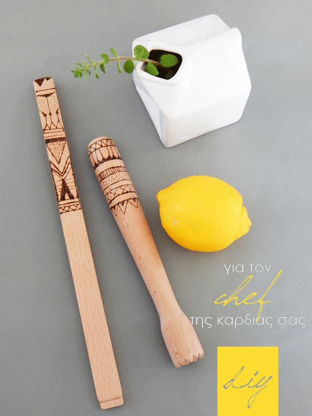 DIY-decorated-wooden-kitchen-utensils
