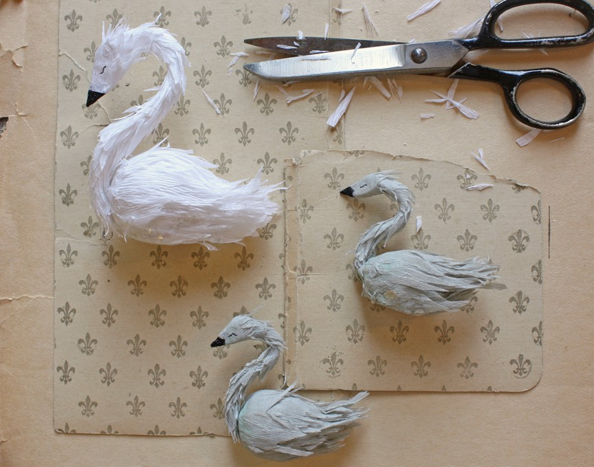 paper_swan_work // Ann Wood