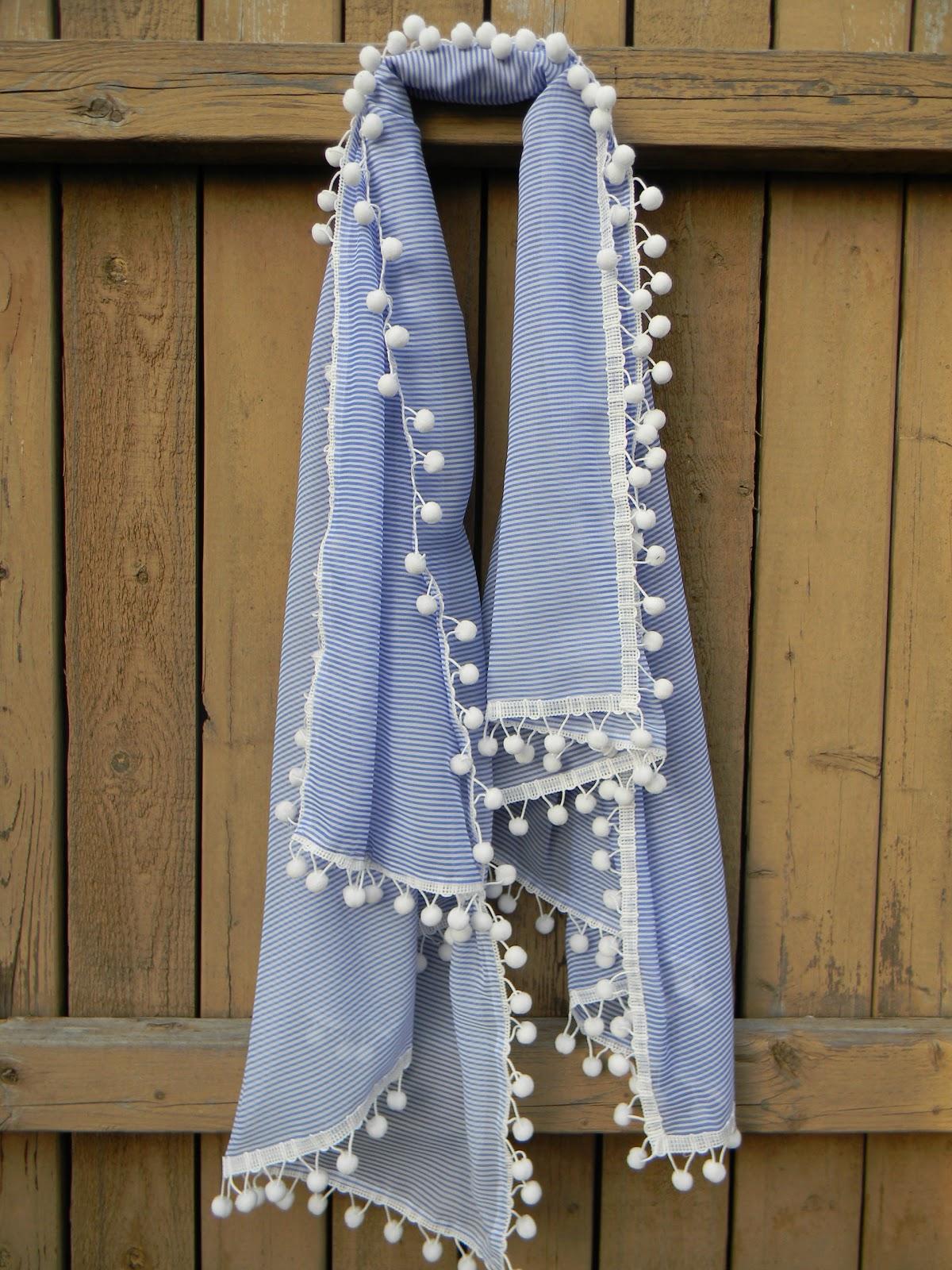 diy-pom-trim-scarf