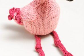 Flamingo //Susan B Anderson// Spud & Chloë