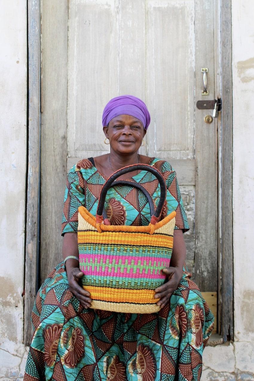 Mary Ayindoe  Very Small Nyariga H 13.5'' W 13.5''