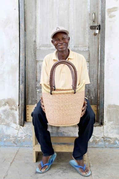 NYARIGA BASKET (SMALL) BY NDANE