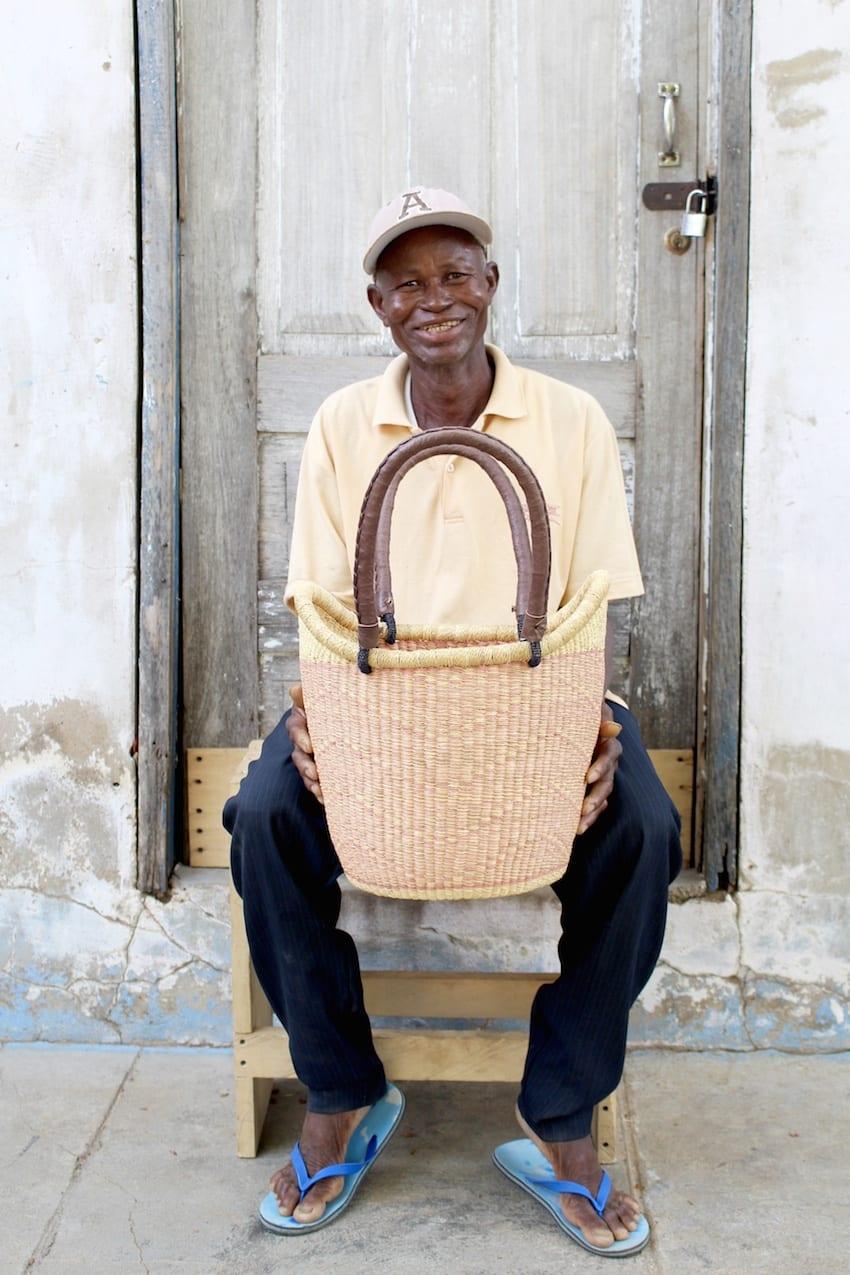NYARIGA BASKET (SMALL) BY NDANE
