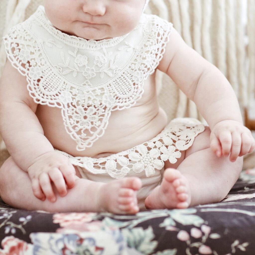 boho-baby-bib-lace-arrowandmuse