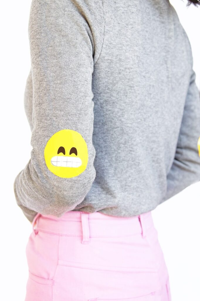 DIYEmojiElbowPatches7