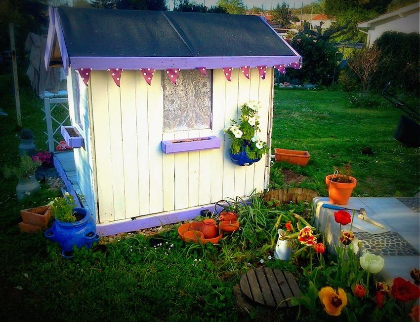 Guest Post Le Tuto De La Cabane De Jardin Par Lili Joue