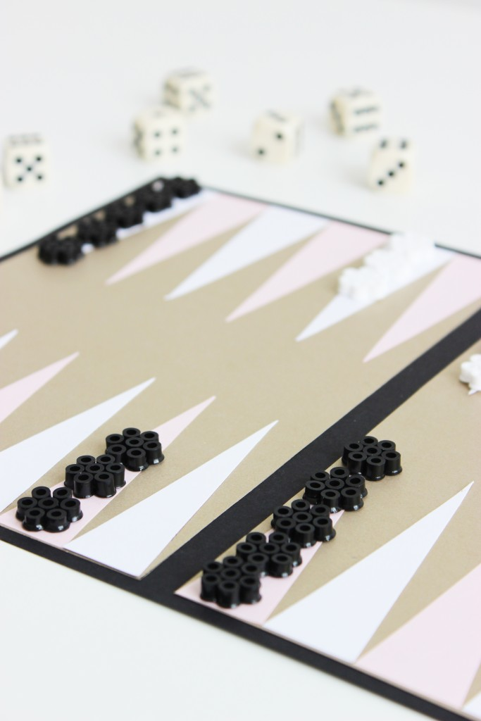 DIY-backgammon