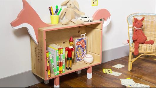 DIY : la boîte de rangement renard