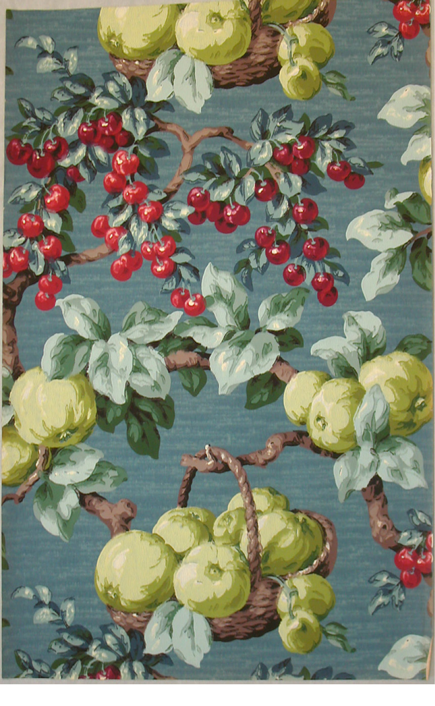 Sidewall Sample (France), ca. 1930; Produced by Isidore Leroy Company ; machine-printed; Overall: 74.5 x 46.5 cm (29 5/16 x 18 5/16 in.); Museum purchase from General Acquisitions Endowment and Friends of Wallcoverings Funds; 2001-14-52