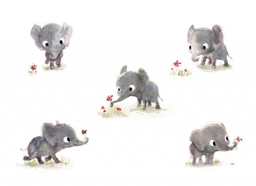 elephant-pentwaterpaper-etsy