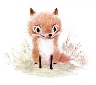 fox-pentwaterpaper-etsy