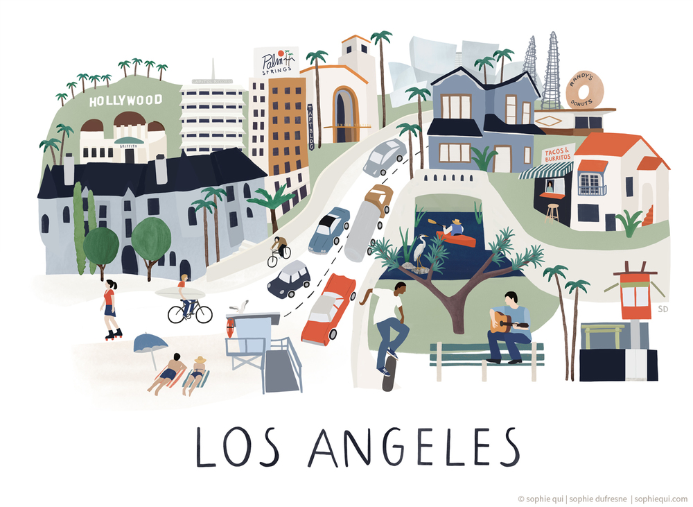 losangeles-illustration-sophiequi