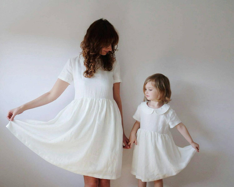 Les beaux habits du dimanche porter en famille plumetis magazine - Vetement mere fille identiques ...